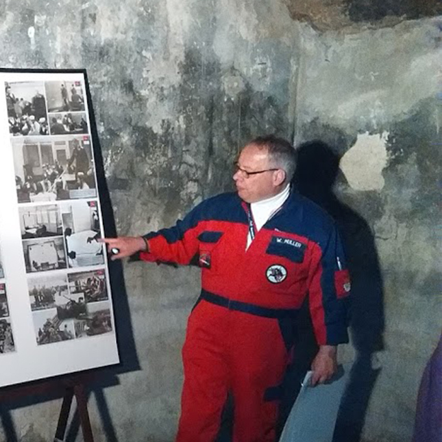 Werner Müller – Sharing his love for Cologne's aviation history